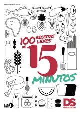 Livro 100 Receitas Leves de 15 Minutos