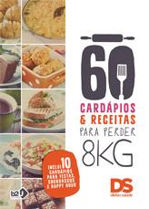 60 Cardápios e Receitas para perder até 8kg